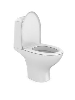 Vaso sanitário. isolado, renderização 3d