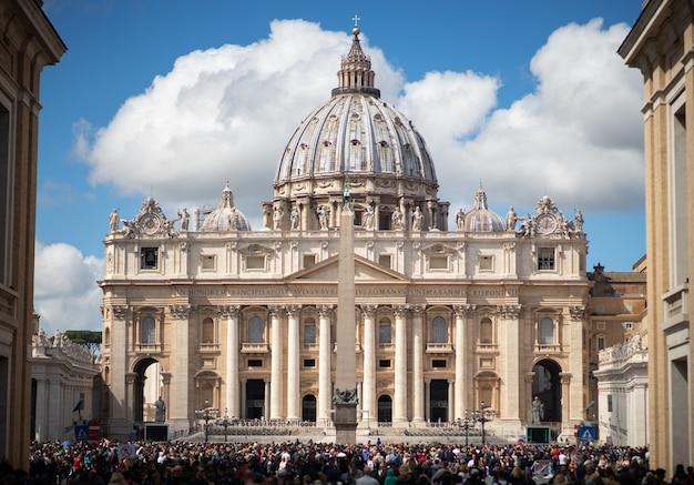 Vaticano, roma, basílica de são pedro, cidade eterna - roma