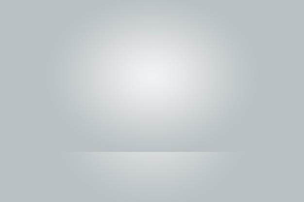 Vazio fotógrafo estúdio fundo abstrato textura de beleza escuro e claro azul claro ...
