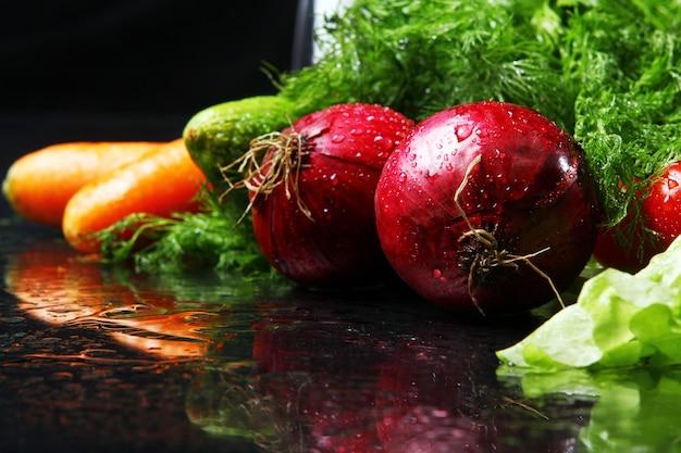 Vegetais frescos