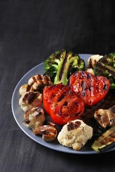 Vegetais grelhados