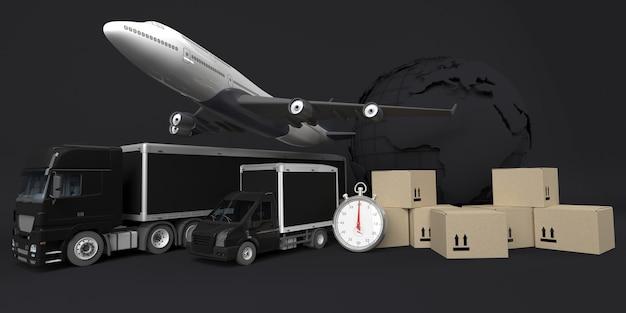 Veículo de entrega de carga