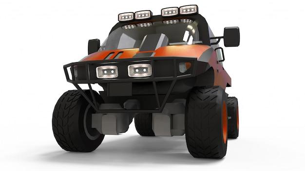 Veículo todo-o-terreno especial para terrenos difíceis e condições difíceis de estradas e condições meteorológicas