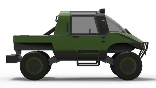 Veículo todo-o-terreno especial para terrenos difíceis e condições rodoviárias e meteorológicas difíceis