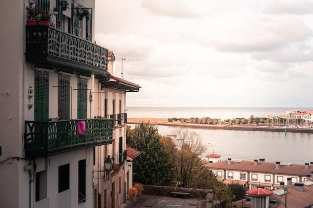 Veja de hondarribia no país basco