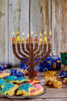 Velas de hanukkah, feriados judaicos