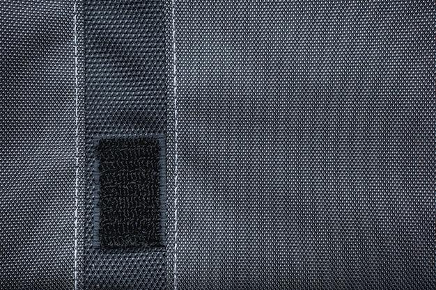 Velcro na bolsa do laptop - fundo
