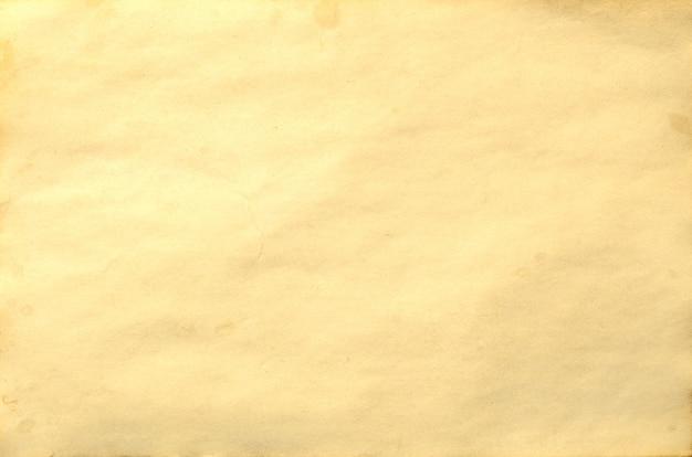 Velha peça em branco de manuscrito de papel desintegrando vintage antigo ou pergaminho