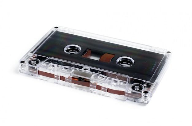 Velho cassete de áudio