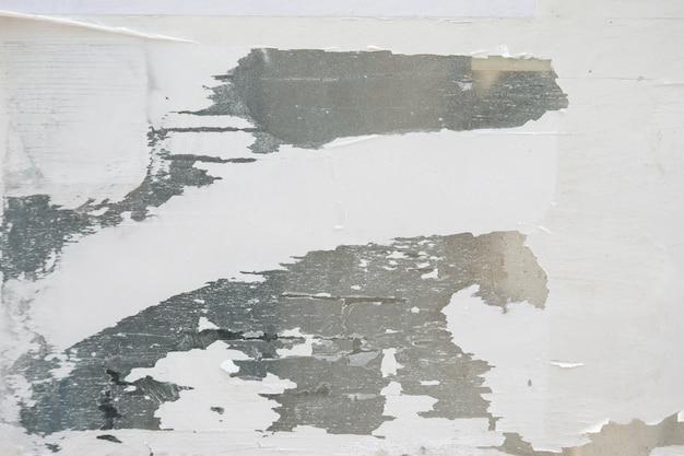 Velho, grunge, cartazes, papel, superfície, textura, fundo