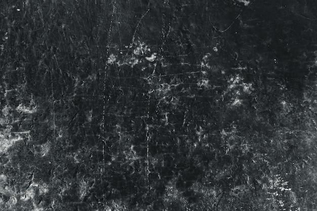 Velho grunge envelhecido sujo resistiu a parede de pedra preta textura abstrato