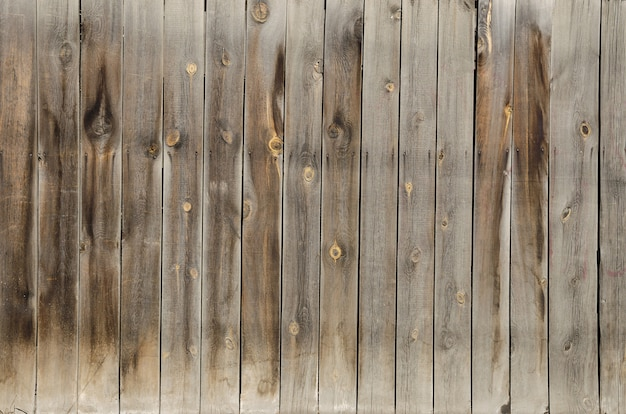 Velho, grunge muro de madeira usado como plano de fundo