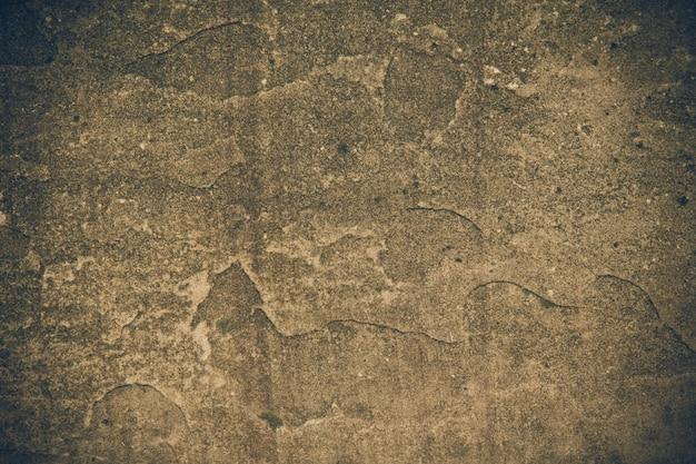 Velho muro de concreto e o plano de fundo