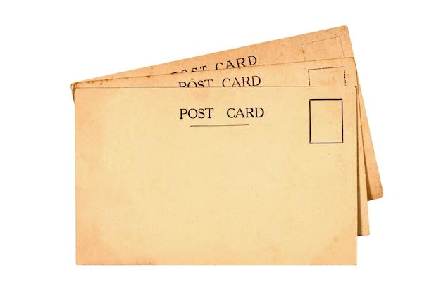 Velhos cartões postais