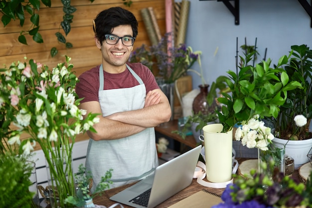 Vendedor de flores