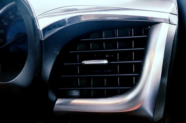 Ventilação de ar condicionado no carro