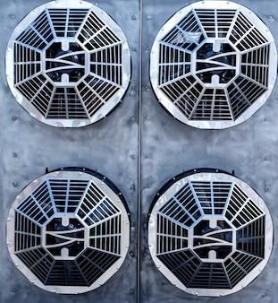 Ventiladores de ar condicionado industriais de metal ventilador de ventilação avac