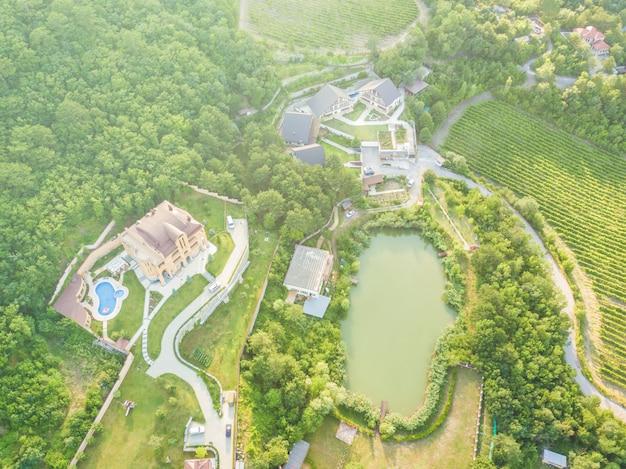 Verão aldeia de montanha apartamentos de luxo apartamentos de luxo para. viagens férias férias
