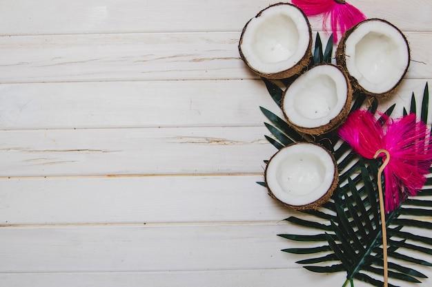 Verão, composição, gostoso, cocos