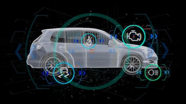 Verificação de carro inteligente