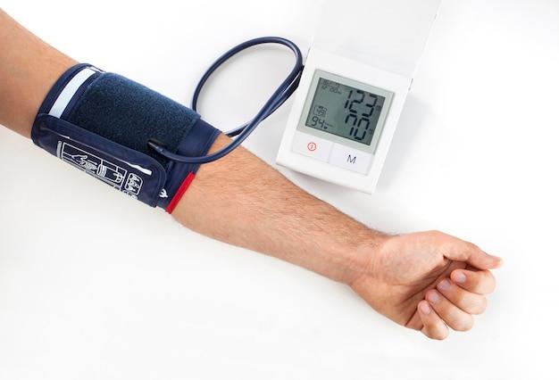 Verificando a pressão sanguínea