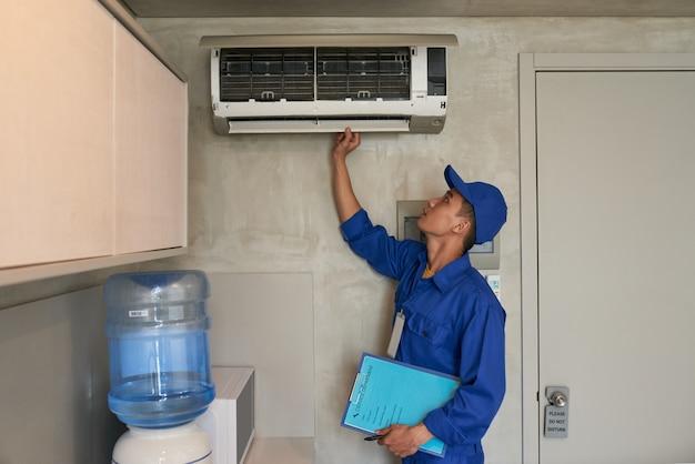 Verificando o condicionador