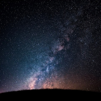 Via láctea e céu estrelado