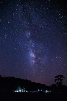 Via láctea e espaço