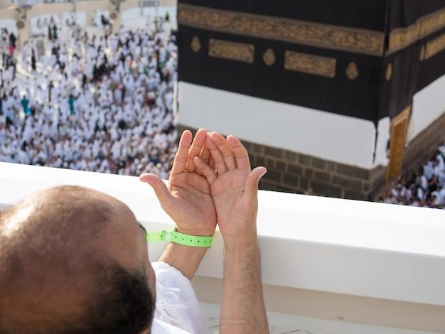 Viagem ao hajj na sagrada meca foto de alta qualidade foto de alta qualidade