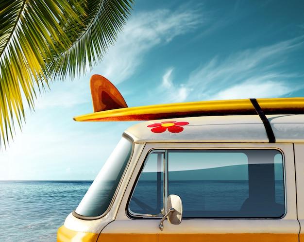 Viagem de carro e turismo