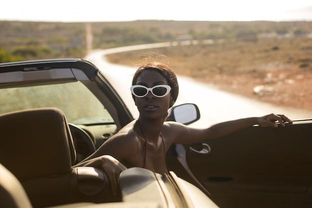 Viagem de verão de carro