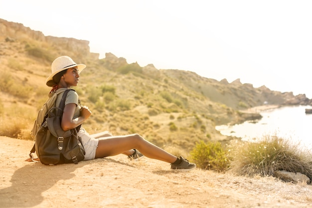 Viagem na natureza no verão