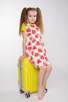 Viagens de conceito e turismo com criança.