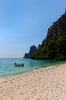 Viagens de férias e férias na ilha tropical