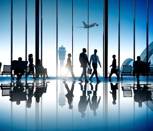 Viagens de negócios corporativos