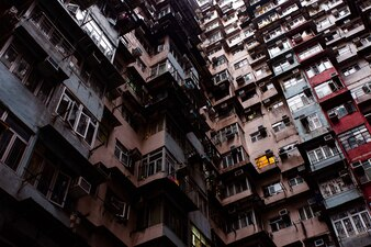 Viajar para Hong Kong. Magnífico edifício