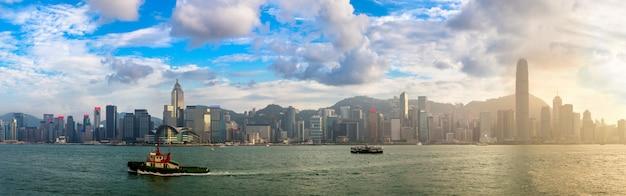 Victoria harbour em hong kong