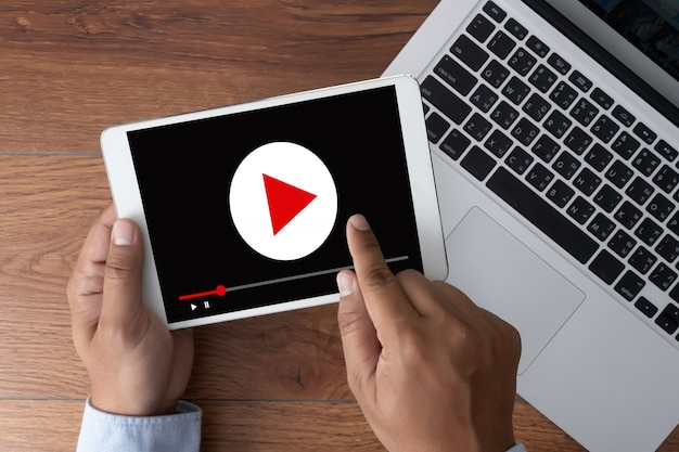 Video marketing audio video, canais de mercado interativos