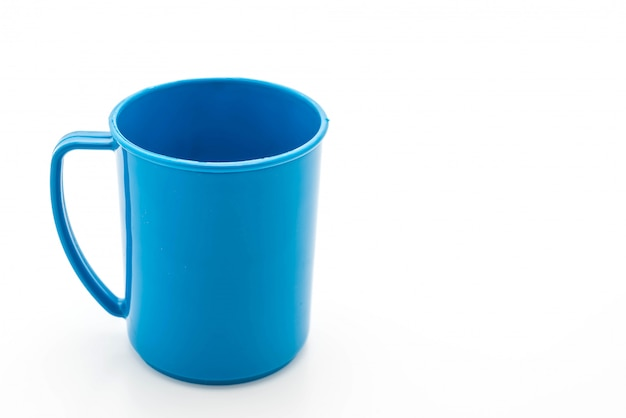 Vidro plástico azul