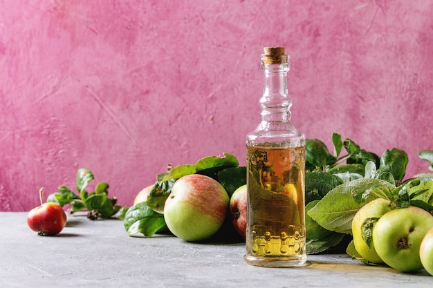 Vinagre de maçã orgânica