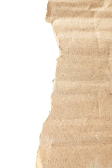 Vinheta de fundo de papelão marrom