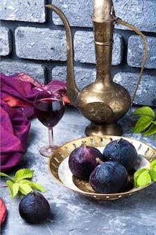 Vinho com figos