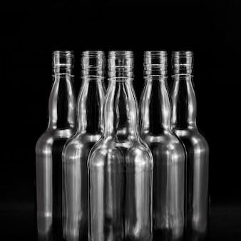 Vinho vodka água vítrea do vintage
