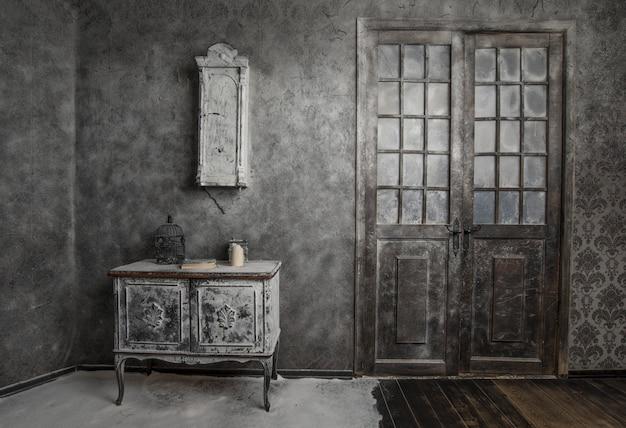 Vintage adandonado interior