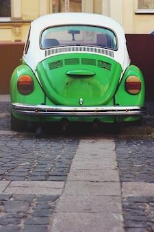 Vintage carro estacionado