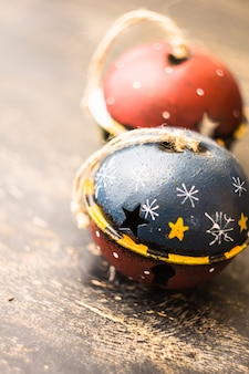 Vintage jingle bells como um conceito de natal