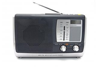 Vintage rádio, antiga