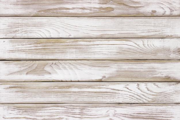 Vintage velho da parede de madeira branca usando fundo clássico