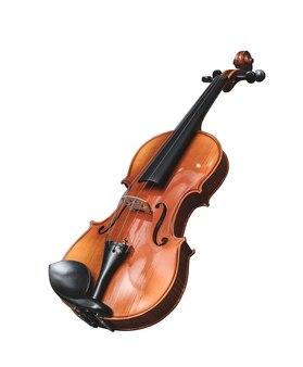 Violino isolado no branco