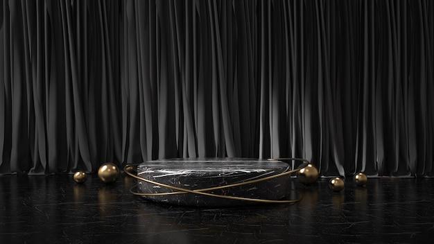 Visor minimalista moderno do pódio
